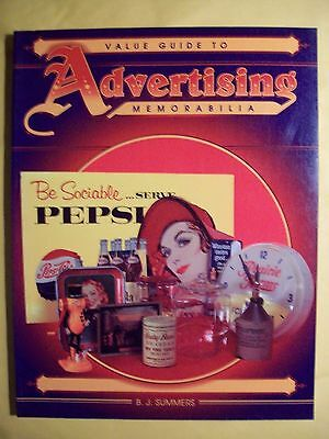 ANTIQUE ADVERTISING $$$ id PRICE VALUE GUIDE COLLECTOR'S BOOK clocks signs trays
