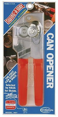 Crestware Portable Can Opener, Red - SWI407R