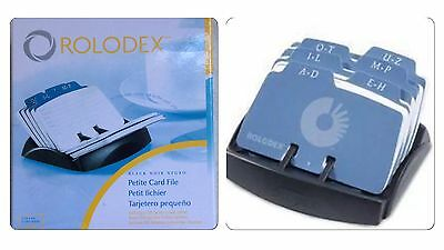 ROLODEX ROTARY 125 CAPACITY PETITE Business Card Open  FILE BNIB
