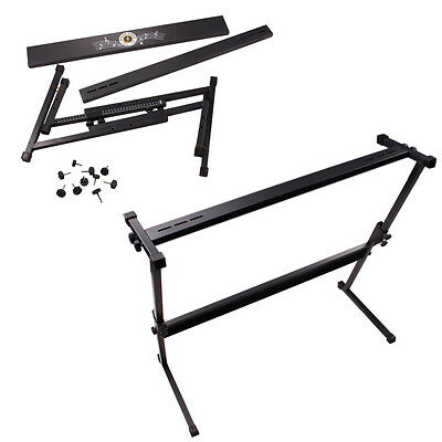 New Adjustable Z-Type Electric Piano Rack Stand Heavy Duty Z Stand