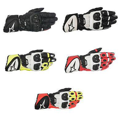 Alpinestars GP Plus R Motorcycle Motorbike Leather Gloves | All Colours & Sizes