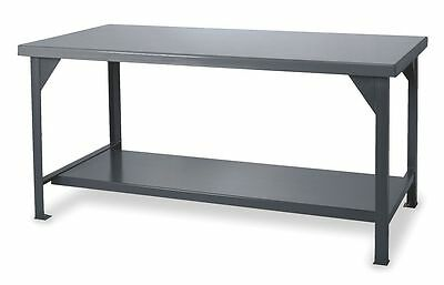 "Durham Workbench, 72"" Width, 36"" Depth Steel Work Surface Material -"