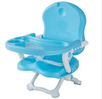 High Chair Feeding Table Tray Baby Folding Toddler Booster Seat Portable Travel