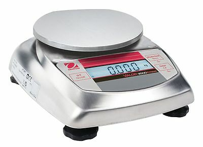 Ohaus Packaging/Portioning Scale, 200g/0.44 lb - V31XH202