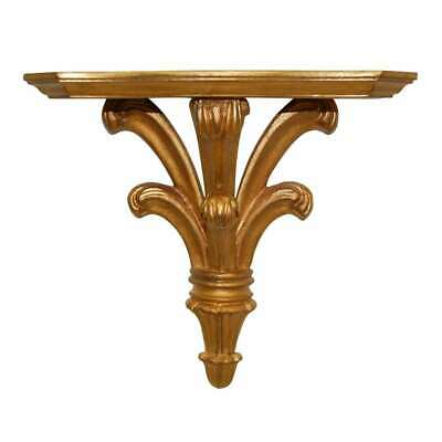 Hickory Manor SMALL Prince William Bracket/Gold Leaf - 6723GL