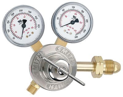 "Miller-Smith Equipment 30 Series Gas Regulator, 50 psi, 2.000"", Liquefied"