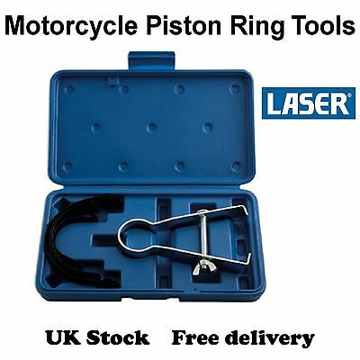 Laser Motorcycle Piston Ring Tool Set - 5066, 40mm-85mm - [D52]
