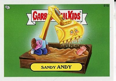 Garbage Pail Kids Mini Cards 2013 Base Card 91b Sandy ANDY