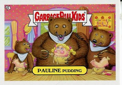 Garbage Pail Kids Mini Cards 2013 Base Card 75b PAULINE Pudding