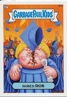 Garbage Pail Kids Mini Cards 2013 Base Card 61b Robed ROB