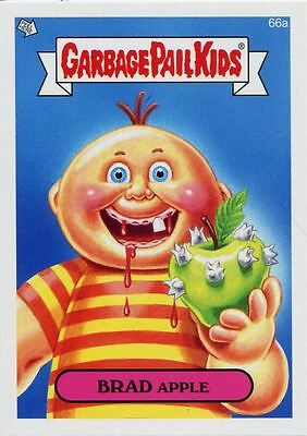 Garbage Pail Kids Mini Cards 2013 Base Card 66a BRAD Apple