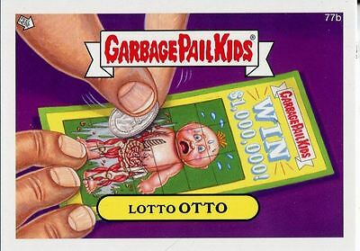 Garbage Pail Kids Mini Cards 2013 Base Card 77b Lotto OTTO