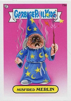 Garbage Pail Kids Mini Cards 2013 Base Card 79a Misfired MERLIN