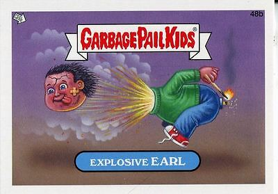 Garbage Pail Kids Mini Cards 2013 Base Card 48b Explosive EARL