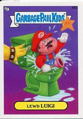 Garbage Pail Kids Mini Cards 2013 Base Card 45b Lewd LUIGI