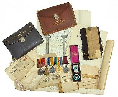 Family Group Qsa,1914 Mons Star,war,victory,l.s.g.c Medal 1St Issue & Masonic