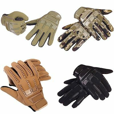 Outdoor Sports Motorcycle Military Tactical Airsoft Hunting Riding Gaming Gloves
