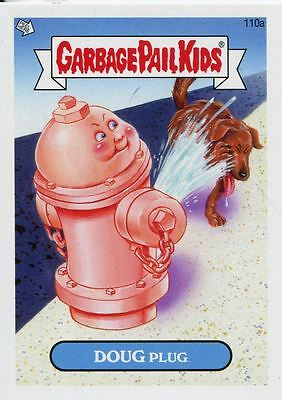 Garbage Pail Kids Mini Cards 2013 Base Card 110a DOUG Plug