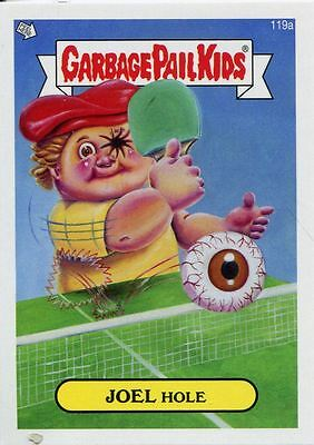 Garbage Pail Kids Mini Cards 2013 Base Card 119a JOEL Hole