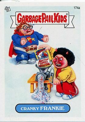 Garbage Pail Kids Mini Cards 2013 Base Card 174a Cranky FRANKIE