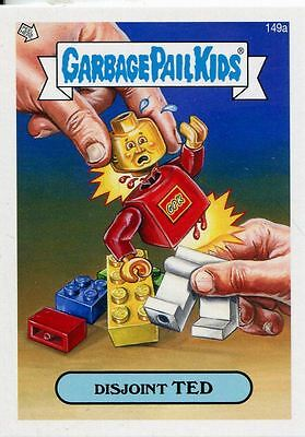 Garbage Pail Kids Mini Cards 2013 Base Card 149a Disjoint TED