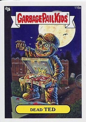 Garbage Pail Kids Mini Cards 2013 Base Card 116a Dead TED