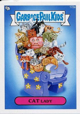 Garbage Pail Kids Mini Cards 2013 Base Card 172a CAT Lady