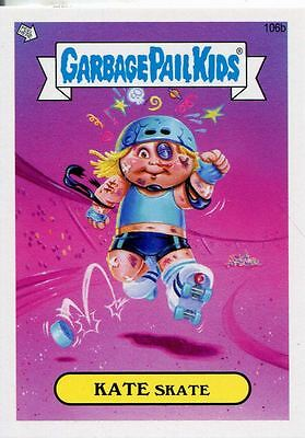 Garbage Pail Kids Mini Cards 2013 Base Card 106b KATE Skate