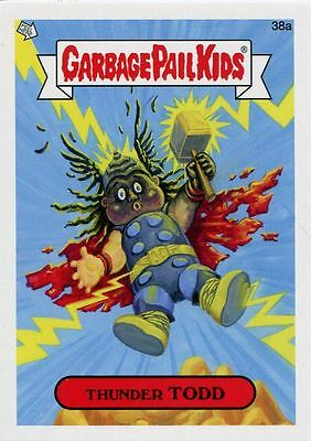 Garbage Pail Kids Mini Cards 2013 Base Card 38a Thunder TODD