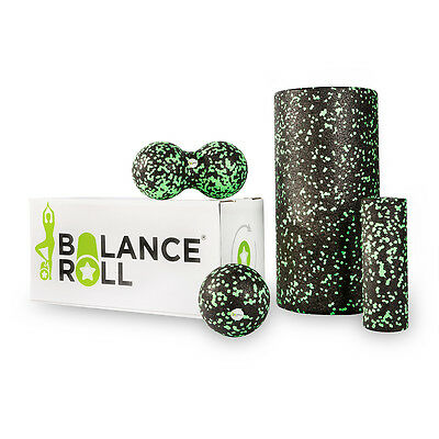 Balance Roll - Komplett Set - Faszienrolle - Made in Germany