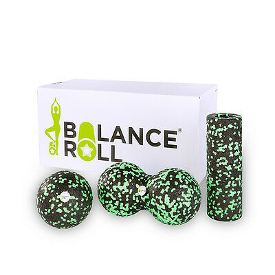 Mini Set Balance Roll Faszienrolle Fitnessrolle Blackroll Alternative Massage