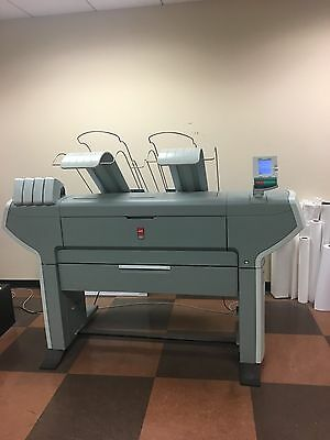 OCE COLORWAVE 600 WIDE FORMAT PRINTER 2 Rolls