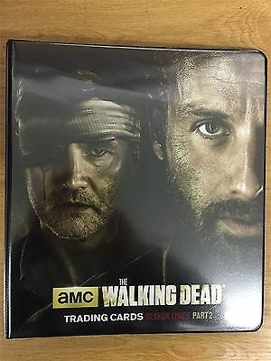 The Walking Dead Season 3 Part 2 Official Cryptozoic Binder