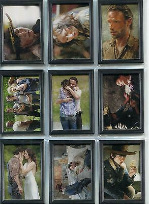 The Walking Dead Season 3 Part 1 Complete The Grimes Family Chase Card Set GF1-9