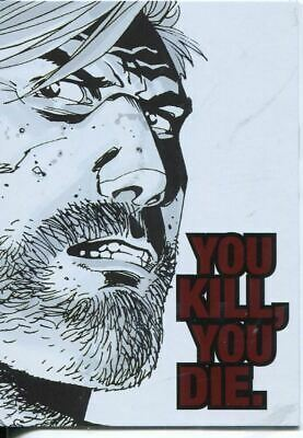 The Walking Dead Comics Series 2 Quotable Chase Card QTB-1