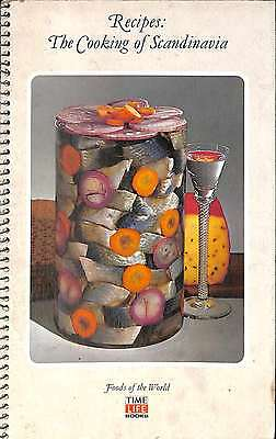 The Cooking of Scandinavia (Foods of the World), Good Condition Book, Time-Life