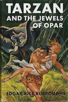 Tirage Grosset & Dunlap 1950 Edgar Rice Burroughs  Tarzan And The Jewels Of Opar