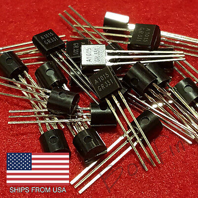 (25 Pack) A1015 PNP Transistor TO-92 1015 - Quick & Free shipping from USA!!!