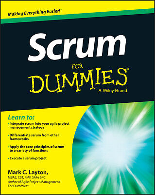 Scrum For Dummies, Mark C. Layton