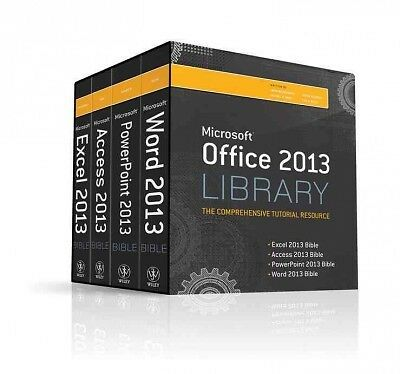 Office 2013 Library Excel 2013 Bible, Access 2013 Bible, PowerPoint 2013 Bible,