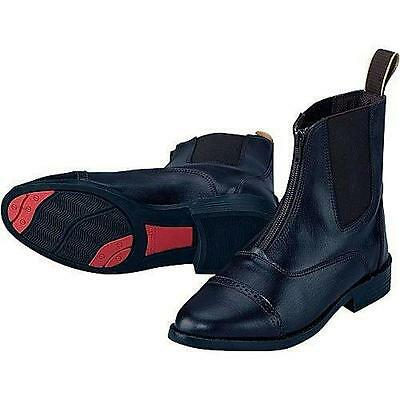 EquiStar Child All Weather Zip Paddock Boots Black 5