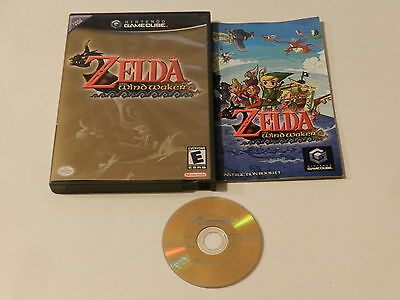 Legend of Zelda The Wind Waker Nintendo GameCube Video Game Complete