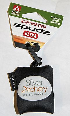 ALPINE ARCHERY SPUDZ ULTRA - POCKET LENS CLEANER - black with SA logo!