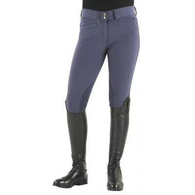 Ovation Women's Celebrity Slimming Knee Patch Dx Breeches Tan 28 L