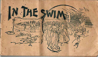"""Antique """"In The Swim"""" Booklet/Ad for Pierce's Famous Favorites"""