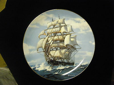"""Twilight Under Full Sail"" #1 Golden Age of Clipper Ship series Plate Collection"