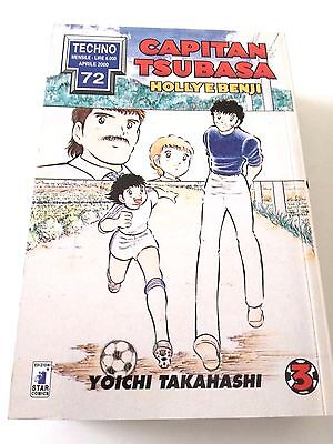 Capitan Tsubasa N. 3 Holly E Benji Manga Star Comics Techno 72 Prima Edizione!!