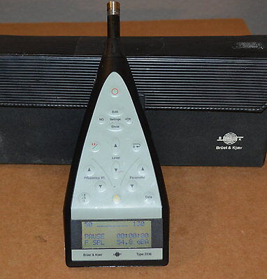 Bruel Kjaer 2236A Precision Integrating Sound Level Meter Version A-007, GOOD