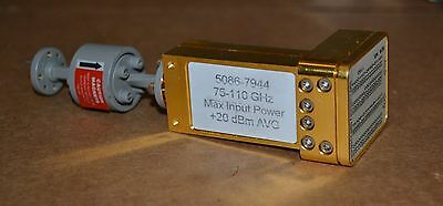 Agilent 11970W Waveguide Harmonic Mixer w/W365A Isolator 75-110GHz, 2 Available