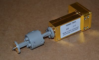 Agilent 11970V Waveguide Harmonic Mixer w/V365A Isolator 50-75GHz, 2 Available